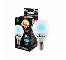 Лампа светодиодная ST G45 8Вт 6400К 360Лм Е14 шар ЗАРЯ