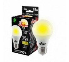 Лампа светодиодная А60 ST 15Вт 2700К 1200Лм Е27 груша ЗАРЯ