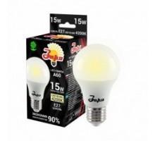 Лампа светодиодная А60 ST 15Вт 4200К 1200Лм Е27 груша ЗАРЯ