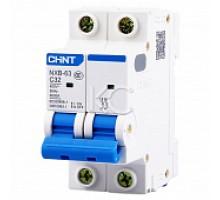 Автоматический выключатель NXB-63 2P 40A 6кА х-ка C (CHINT)