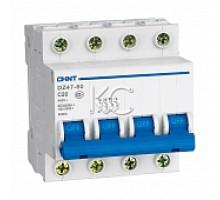 Автоматический выключатель DZ47-60 4P 10A 4.5KA х-ка C (CHINT)