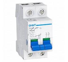 Выключатель нагрузки NH2-125 2P 63A (CHINT)