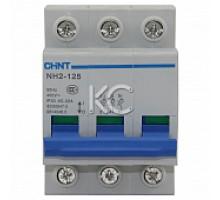 Выключатель нагрузки NH2-125 3P 32A (CHINT)