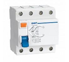 Устройство защитного отключения (УЗО) NL1-63 6kA 4P 63A 30mA тип AC (DB) (CHINT)