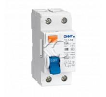 Устройство защитного отключения (УЗО) NL1-63 6kA 2P 25A 30mA тип AC (DB) (CHINT)