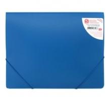 Папка с резинкой А4 0,4мм, SPONSOR, синий, арт. SF311/BU/SPEC