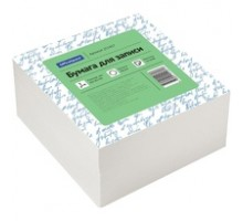 Блок для заметок 9*9*4,5 белый, белизна 70-80% OfficeSpace