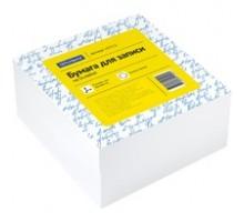 Блок для заметок 9*9*4,5 белый на склейке, OfficeSpace
