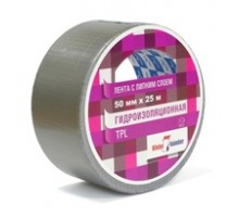 Скотч 50- 10 м серый Гидроизоляционный Klebebander/36