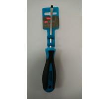 Отвертка диэлектрическая шлицевая SL 5*100 до 1000В Smartby