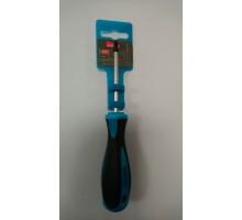 Отвертка диэлектрическая крестовая PH 1*75 до 1000В Smartby