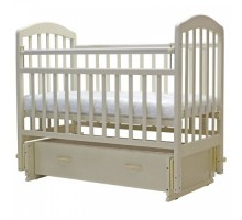Кровать детская (арт. 30) 120*60  'ЛИРА'-7 универ.маятн/ящ   (белый,венге,орех.карамель,слон.кость,венге-слон.кость,вишня)