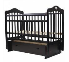 Кровать детская (арт. 36) 120*60  'ОЛИВИЯ'-7 универ.маятн/ящ.  (белый,венге,орех.карамель,слон.кость,венге-слон.кость)