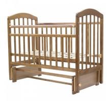 Кровать детская (арт. 32) 120*60  'ЛИРА'-5 универ.маятн/без ящ накладка силик.       (белый,венге,орех.карамель,слон.кость,венге-слон.кость)