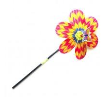 Игрушка Волшебная палочка ВЕТЕРОК  Цветок с бабочкой 60 см
