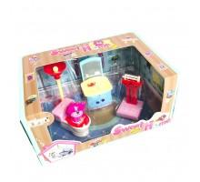 Дом для куклы, 5 предметов