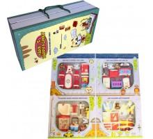 Дом для куклы Мебель в подарочной коробке