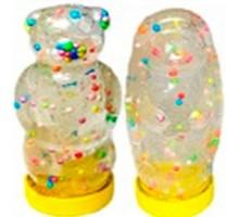 ВОВЛизун ЗВЕРЯТА с цветными шариками,78-105 гр,еж,львенок, медвеж