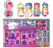 Дом для куклы, 4 куклы LOL дом, мебель