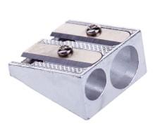 Точилка метал. 2 отверстия, OfficeSpace, SHM2_1611