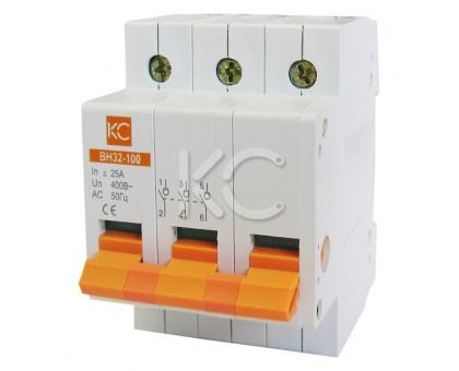 Выключатель нагрузки ВН32-100  ( 50А 3Р)