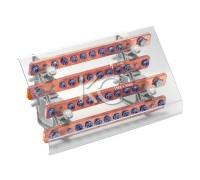 Блок распределительный на DIN-рейку РБ (шинный)-400А