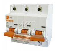 Выключатель автоматический ВА 47-125 3Р 125А 10 кА хар. D