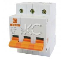 Выключатель нагрузки ВН32-100  (100А 3Р)