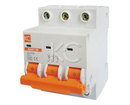 Автоматический выключатель ВА 47-39 (25А 3р B)