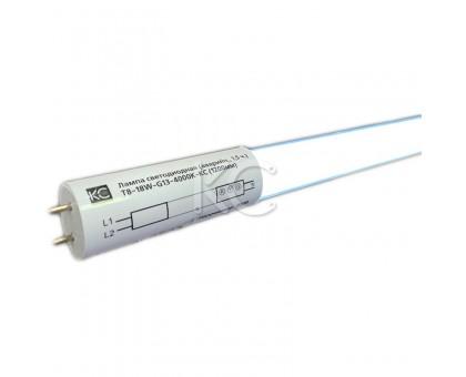 Лампа светодиодная (аварийная, 1,5 ч.) T8-18W-G13-4000К  (1200мм)