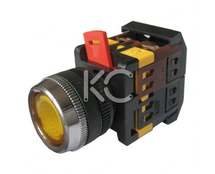 Кнопка с подсветкой АВЛФС-22 (Ж)