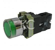 Кнопка с подсветкой LAY5-BW3361 (З)