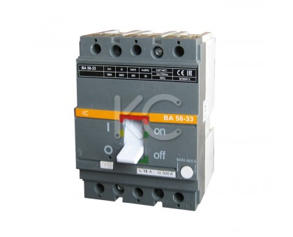 Автоматический выключатель ВА 58-33 ( 160А 3р 35кА  )