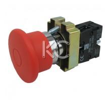Кнопка LAY5-BT42 (Грибок с фи . красный)