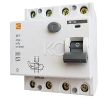 Дифференциальный выключатель (УЗО) ВД1-63 4р С 32А/30мА