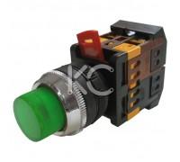 Кнопка с подсветкой АВЛФП-22 (З)