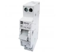 Модульный переключатель МП-63 трехпозиционный 1P 32А