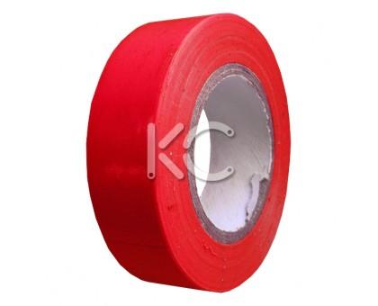 Изолента ПХВ 0,13х19ммх20м красная