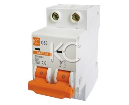 Автоматический выключатель ВА 47-39 ( 2А 2р С)