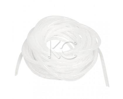 Лента спиральная монтажная пластиковая ЛСМ-06 белый (10м/упак.)