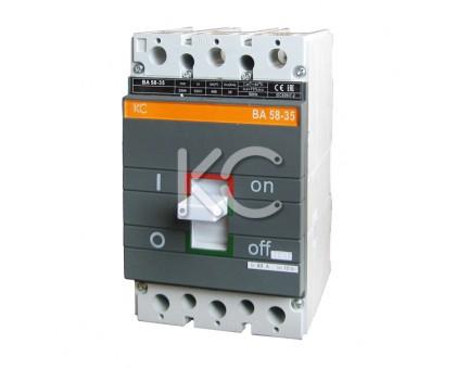 Автоматический выключатель ВА 58-35 ( 250А 3р 35кА  )