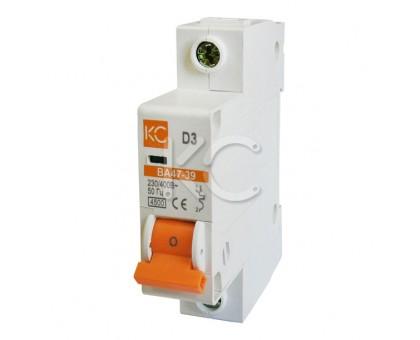 Автоматический выключатель ВА 47-39 (40А 1р D)
