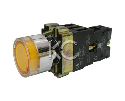 Кнопка с подсветкой LAY5-BW3571 (Ж)