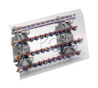Блок распределительный на DIN-рейку РБ (шинный)-200А