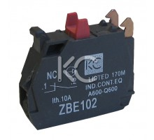 Дополнительный контакт 1НЗ (ZBE-102) к LAY 4