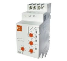 Реле контроля фаз многофункциональное RKF-8
