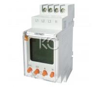 Реле контроля фаз с LCD дисплеем RKF-2S