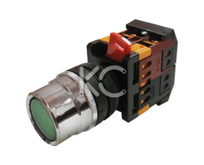 Кнопка с подсветкой АВЛФ-22 (З)