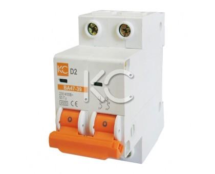 Автоматический выключатель ВА 47-39 (40А 2р D)