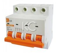 Автоматический выключатель ВА 47-39 (16А 4р С)